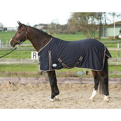 Harrys Horse Zomerdeken Honeycomb Navy