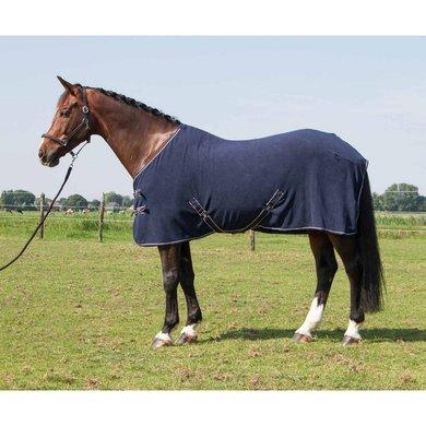 Harrys Horse Fleece Rug without Neck Navy