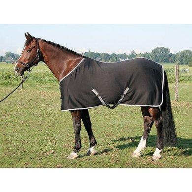 Harry Horse Jersey Cooler Deken Zwart