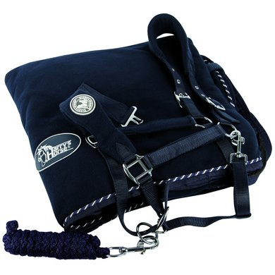 Harrys Horse Fleecerug and Headcollar Navy