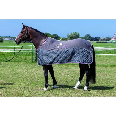 Harrys Horse Fleecedeken WI15 Dark Shadow 185cm