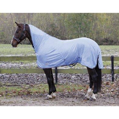 Harrys Horse Flysheet Mesh met Hals&singels Lichtblauw 105cm