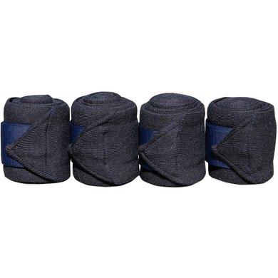 Harrys Horse Bandages Acrylique 4pc Marin 3m 4 Pièce