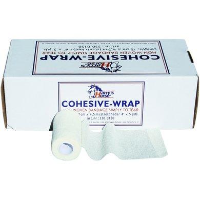 Harrys Horse Bandages Cohesive Blanc
