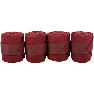 Harrys Horse Fleece Bandages Bordeaux