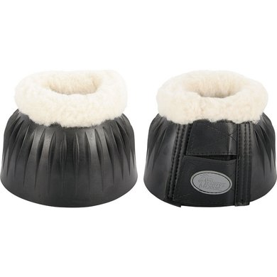 Harrys Horse Over Reach Boots Rubber with Vestan Black