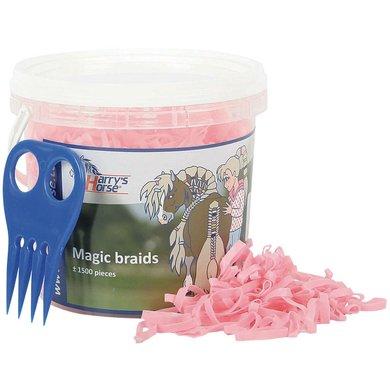 Harrys Horse Magic Braids Bucket Roze