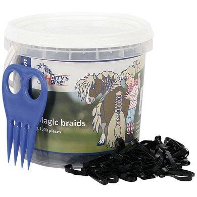 Harry's Horse Magic Braids Pot Zwart