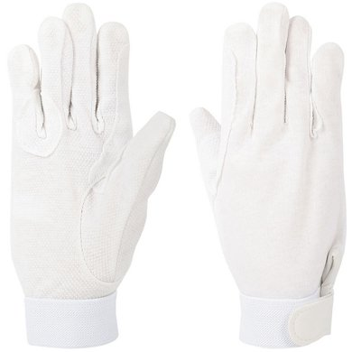 Harrys Horse Cotton Gloves White