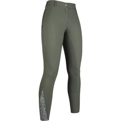 HKM Pantalon d'Équitation Survival Olive 44