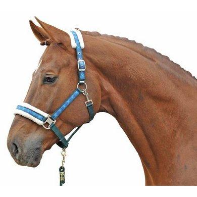 HKM Halster Vivien Zachte Voering Bruin Geruit Shetland pony