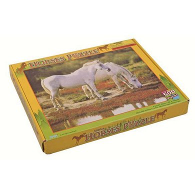 Hkm Puzzel Paardenmotief