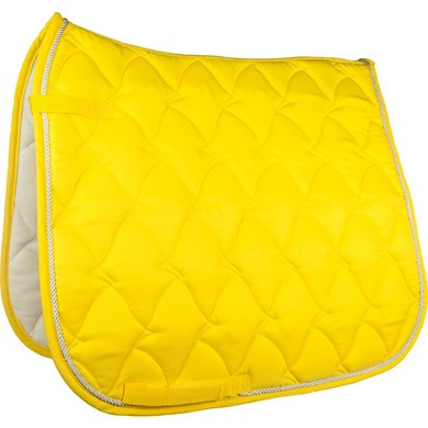 HKM Saddle Cloth Cassandra Softice Neon yellow/silver