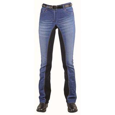 HKM Jodhpur Rijbroek Summer Denim Jeans Blauw/Donker blauw