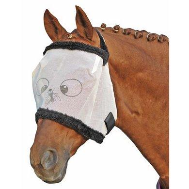 HKM Vliegenmasker met Teddy Funny Wit