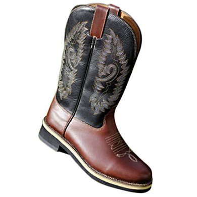 HKM Westernboot -Softy Cow- Bruin 40