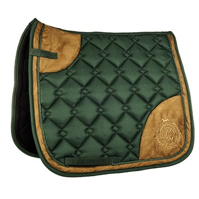 Lauria Garrelli Saddle Pad Champagne Dark-green