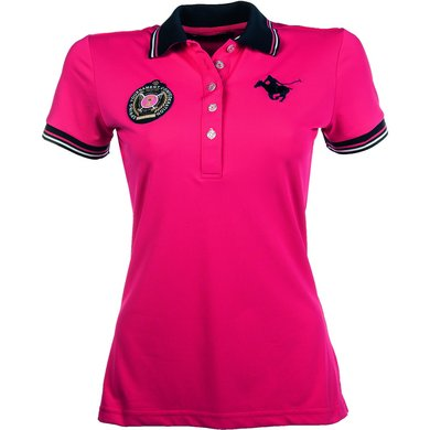 Lauria Garrelli Dames Poloshirt Polo Classic Sport Roze Xxl