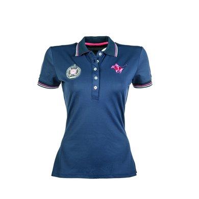 Lauria Garrelli Dames Poloshirt Polo Classic Sport Dblauw L
