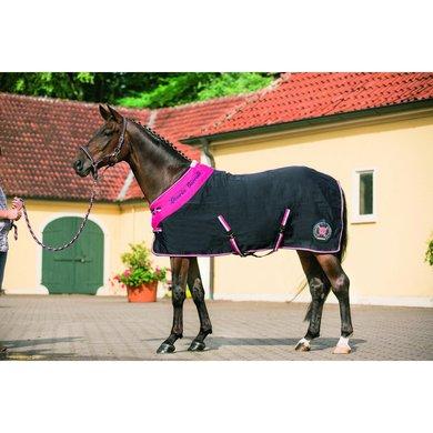 Lauria Garrelli Staldeken Polo Classic Dblauw/droze 115/165