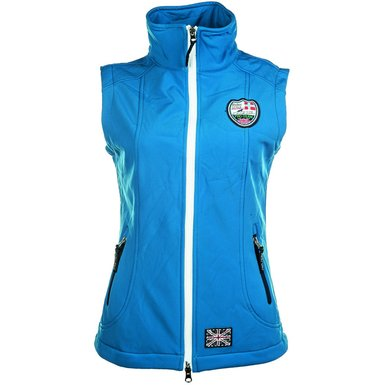 Hkm Pro Team Softshell Bodywarmer Global Team Kblauw 176