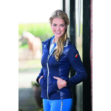 Hkm Pro Team Nylon/ Softshell Combinatie Glob Team Dblauw Xs