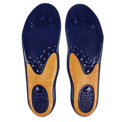 HKM Gel Interior Soles Blue