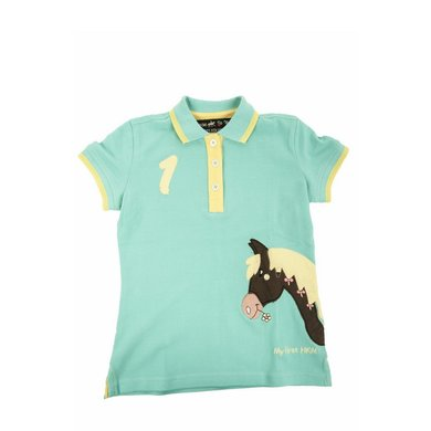 Little Sister Polo Shirt My Pony Turkoois 98/104
