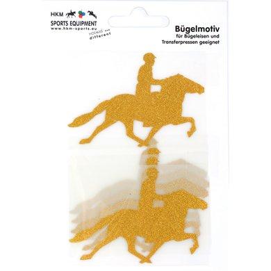 Strijkmotief Ijslander Goud Flex Moda Glitter 5st