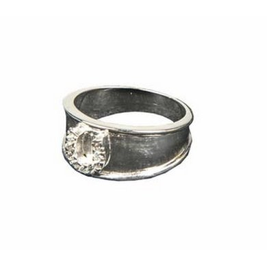 Hkm Ring Hoefijzer Crystal 53 Mm