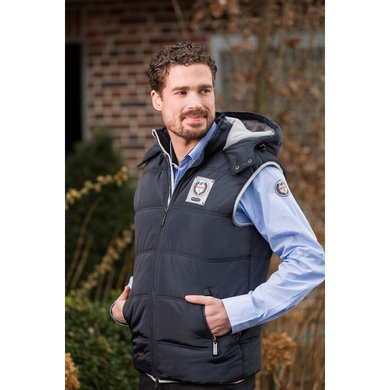Kingston Bodywarmer North Pole Donkerblauw L