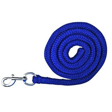 HKM Lead Rope Stars Carabiner Clip Darkblue 180cm