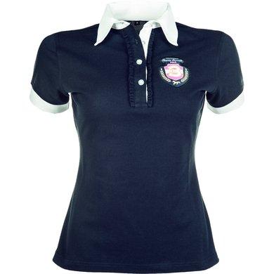 Lauria Garrelli Dames Poloshirt Polo Classic Donkerblauw L