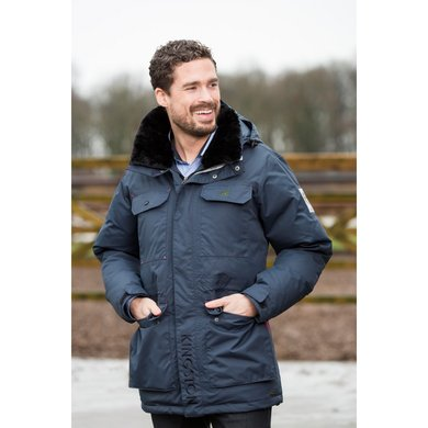 Kingston Parka North Pole Donkerblauw Xs