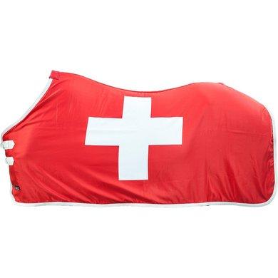 Hkm Zweetdeken Flags Vlag Zwitserland 165/215