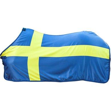 Hkm Zweetdeken Flags Vlag Zweden 135/185