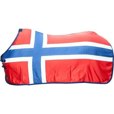 Hkm Zweetdeken Flags Vlag Noorwegen 155/205