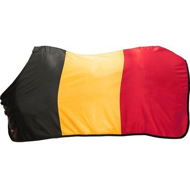 Hkm Zweetdeken Flags Vlag Belgie 155/205