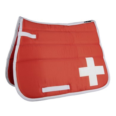 Hkm Zadeldek Flag Allover Vlag Zwitserland Veelzijdigheid