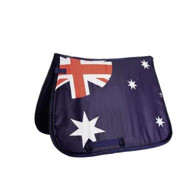 Hkm Zadeldek Flag Allover Vlag Australie Dressuur