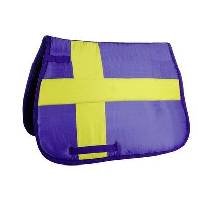 Hkm Zadeldek Flag Allover Vlag Zweden Dressuur