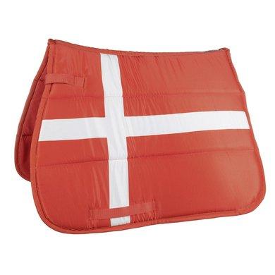 Hkm Zadeldek Flag Allover Vlag Denemarken Dressuur