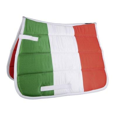 Hkm Zadeldek Flag Allover Vlag Italie Dressuur