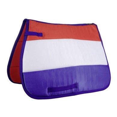 Hkm Zadeldek Flag Allover Vlag Nederland Dressuur