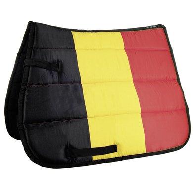 Hkm Zadeldek Flag Allover Vlag Belgie Dressuur