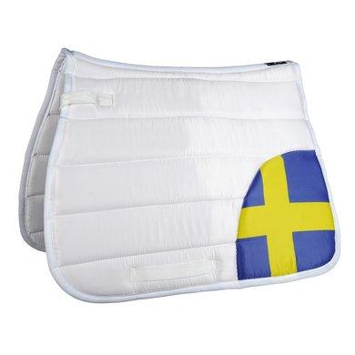 Hkm Zadeldek Flag Corner Vlag Zweden Dressuur