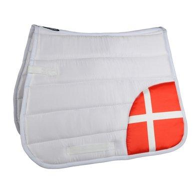 Hkm Zadeldek Flag Corner Vlag Denemarken Dressuur