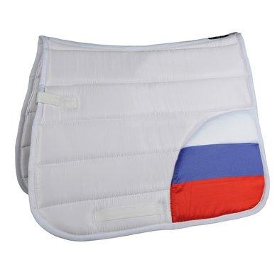 Hkm Zadeldek Flag Corner Vlag Rusland Dressuur