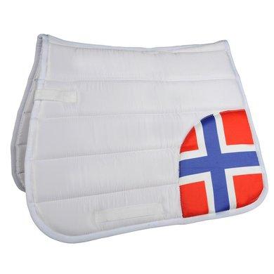 Hkm Zadeldek Flag Corner Vlag Noorwegen Veelzijdigheid