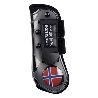 HKM Peesbeschermers Flag Voorbenen Drappeau Norvège Cob/Full